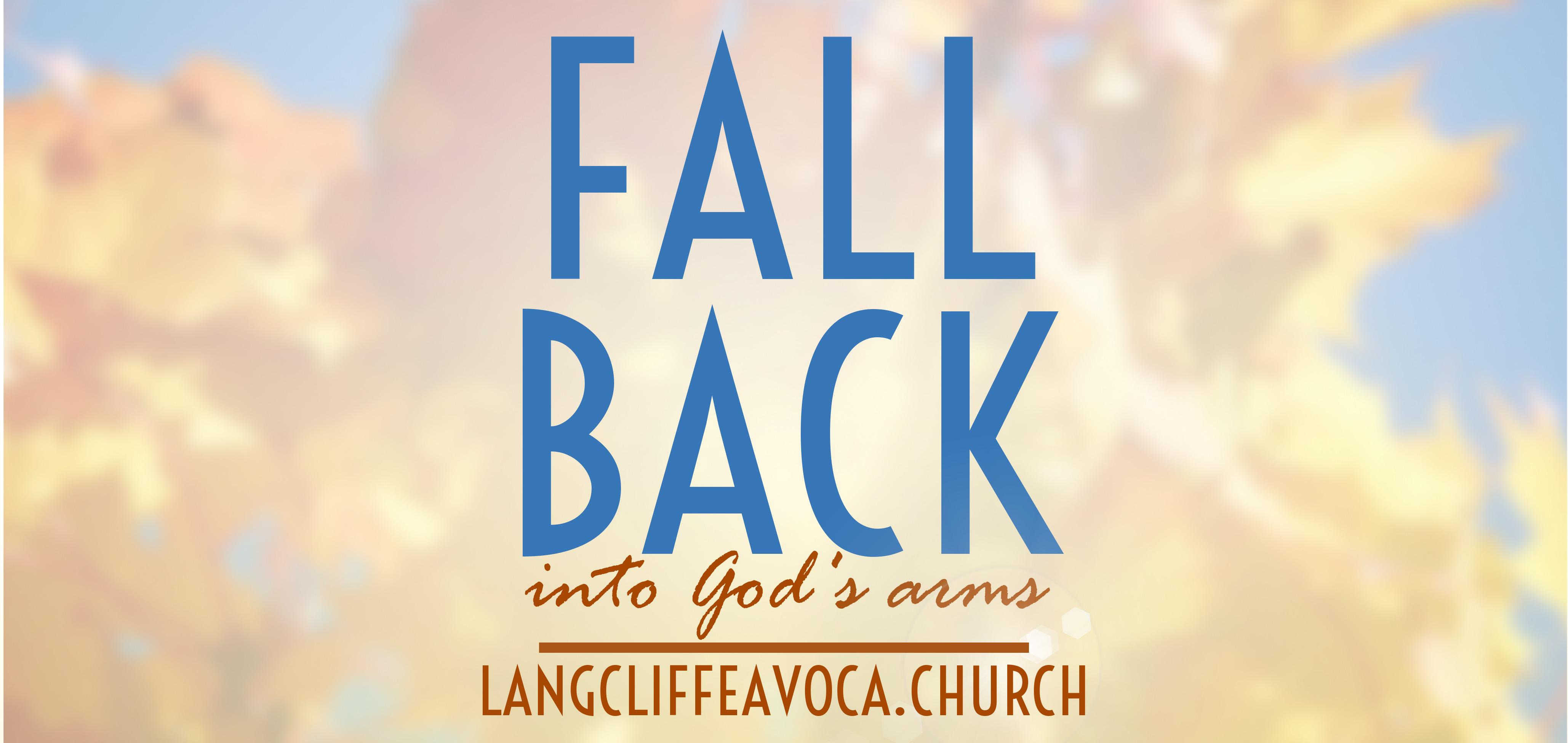 fall back landscape