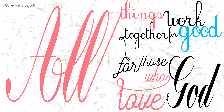 Romans 8:28 – Alex Becker